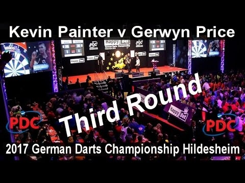 2017 German Darts Championship Hildesheim Kevin Painter v Gerwyn Price | Third Round