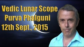 Vedic Lunar Scope: Purva Phalguni 12th September, 2015 - In Deep Space