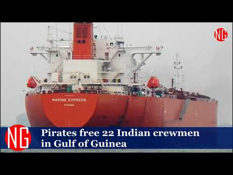 Pirates Have Freed 22 Indian Crewmen In Gulf Of Guinea