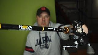 Огляд спінінга Nova Jerk від Sportex. Для трофейної рибалки.