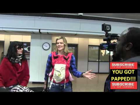 Missi Pyle Interview arrives at Sundance Film Festival at alt Lake City Airport in Los Angeles