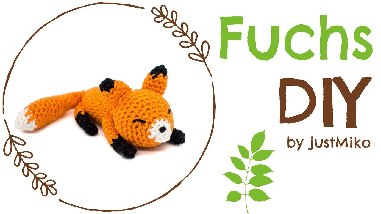 Fuchs Häkeln Do It Yourself Amigurumi Herbst Youtube