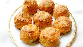 French Cheese Puffs, Gruyere Gougeres (french)