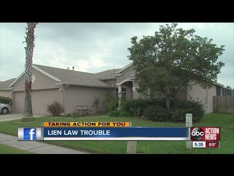 How to avoid trouble with Florida's lien law