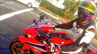 FUN WITH SAVAGE OLD DUDE ON CBR 1000RR | BMW S1000RR