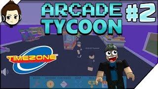 Roblox Indonesia Arcade Tycoon - TIMEZONE KITA MAKIN BESAR #2 RendyFizzy