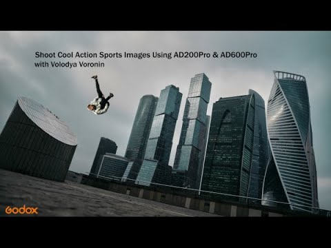 Godox: How To Shoot Action Images By Using Godox AD200Pro And AD600Pro