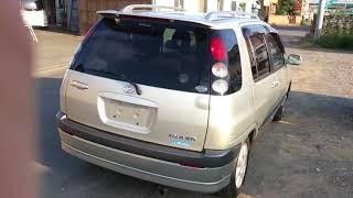 видео-тест автомобиля Toyota Raum ( Exz10-0141934,5E-FE, серебро,2002 г. )