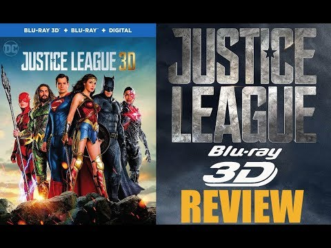 JUSTICE LEAGUE 3D Bluray Review | DTS HD