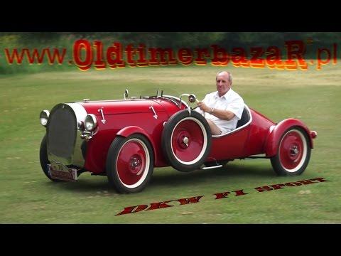 OldtimerbazaR MotoClassic ~ DKW F1 Sport z 1930 roku - opowiada Janusz Rajchel