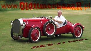 OldtimerbazaR ~ DKW F1 Sport z 1930 roku - opowiada Janusz Rajchel