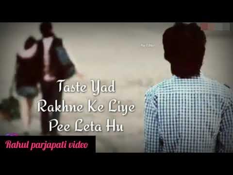 Tumhe Miss Karta Hu // New Sad // WhatsApp Status // Video 2019 // Rahul Parjapati