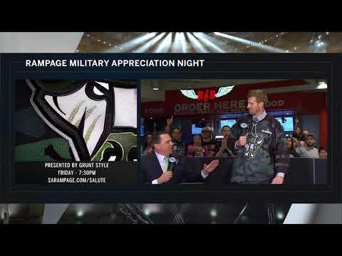 Andrew Monaco & Matt Bonner Discuss Military Appreciation Night on Spurs Live