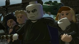 LEGO Harry Potter Years 5-7 Walkthrough Finale - Year 7 Deathly Hallows - The Flaw in the Plan