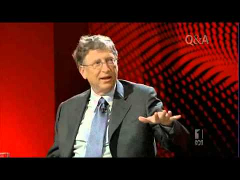 Bill Gates on Q&A 2