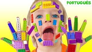 LEGO HANDS - Canções Infantil   Katya e Dima