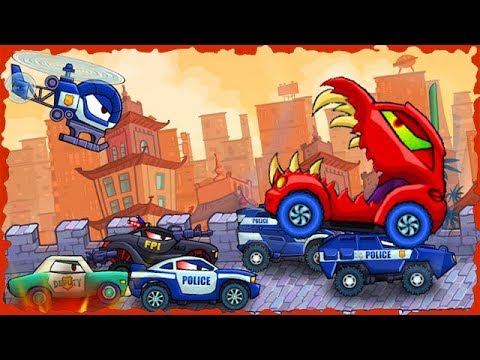 Car Eats Car 3 Mobile Game Walkthrough Level 10 15 Predatory Machines 2
