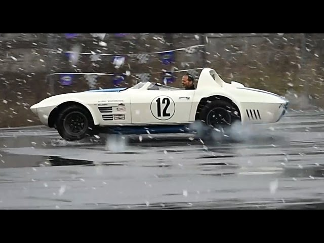 Driving a $10 MILLION 1 of 2 CORVETTE in the SNOW!