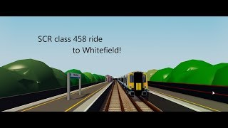 Class 458 to Whitefield | Roblox Stepford County Railway