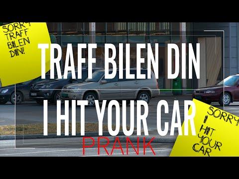 TRAFF BILEN DIN / I HIT YOUR CAR PRANK (Norsk Prank) - REUPLOAD