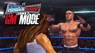 "WWE Smackdown vs Raw 2007 - GM MODE - ""INTERGENDER MATCH!!"" (Ep 7)"