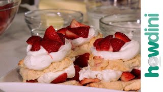 How To Make Strawberry Shortcake (recipe W/ Biscuits)