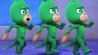 PJ Masks Español Latino Capitulos Completos Gecko en cámara lenta | 1 HORA | Dibujos Animados