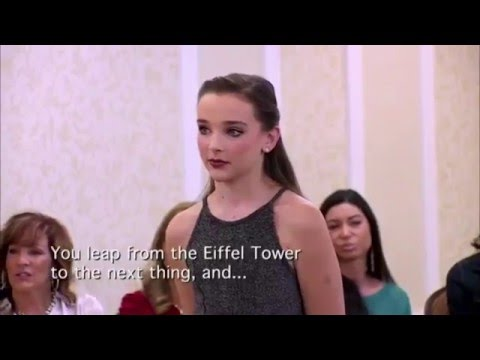 Dance Moms - Jojo, Maddie, And Nia Do An Improv Acting Activity (S5,E14)