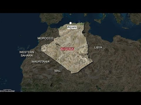 More than 100 killed in military plane crash in Algeria