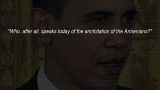 Obama Recognizing the #ArmenianGenocide