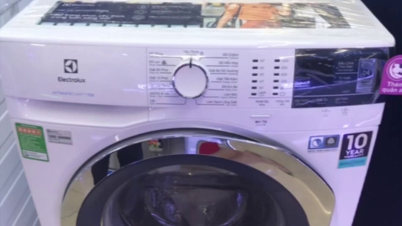 Tìm hiểu máy giặt Electrolux EWF8024BDWA model 2019