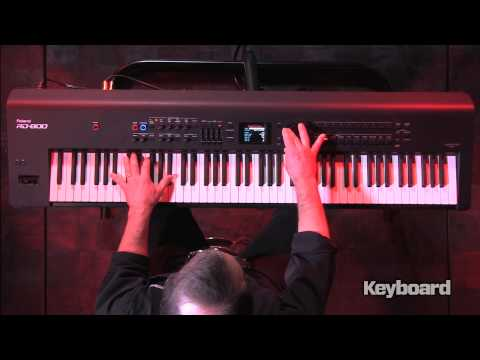 Roland RD-800 Stage Piano First Look