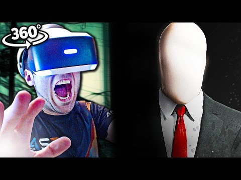 SLENDERMAN EN LA VIDA REAL | Reacción Realidad Virtual CHALLENGE
