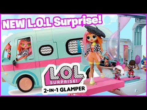 GLAMPER LOL SURPRISE 🚌 WIELKA PRZYGODA LOL SURPRISE 🚌 #SylwiaTestuje