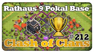 Rathaus 9 POKAL BASE - Clash of Clans #212 [Deutsch/German]