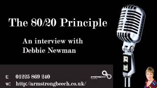 Pareto and the 80-20 Principle - listen to my Podcast