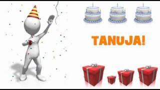 HAPPY BIRTHDAY TANUJA!