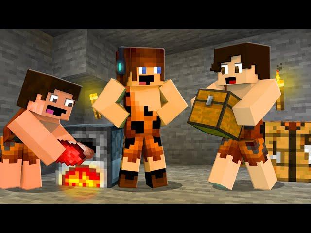 REFORMA NA CAVERNA !! - Minecraft Primitivo #03