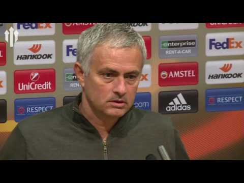 Jose Mourinho FULL PRESS CONFERENCE! Manchester United 4-1 Fenerbahçe