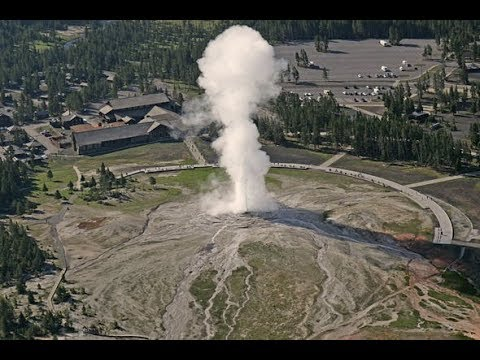 Is Yellowstone Going To Erupt? New Geysers Are Erupting Rocks Are Being Hurled Into The Sky