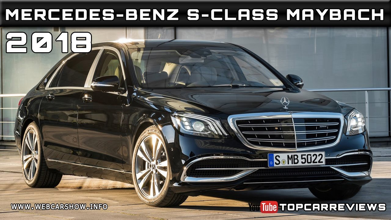 2018 Mercedes Benz S Class Maybach Review Rendered Price Specs