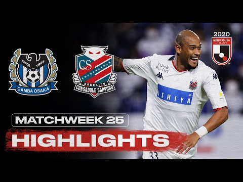 G-Osaka Sapporo Goals And Highlights