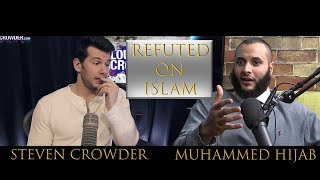 Steven Crowder Challenges Muslim on Air