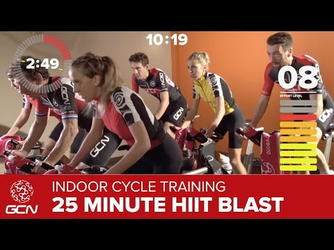 Indoor Cycling Training – 25 Minute HIIT Blast