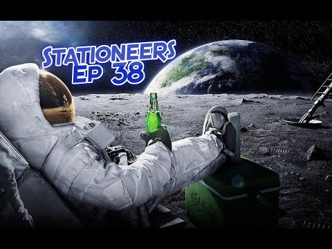 Stationeers Ep38 - Climate Control Grid Circuit, Power Issues...kill plants