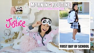 FIRST DAY OF SCHOOL MORNING ROUTINE & RESOLUTION