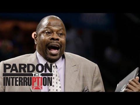Will Patrick Ewing Have Success As Georgetown Coach? | Pardon The Interruption | ESPN