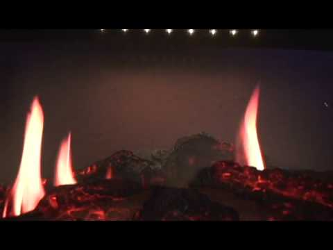 Очаг Dimplex Opti-V. Видео 1