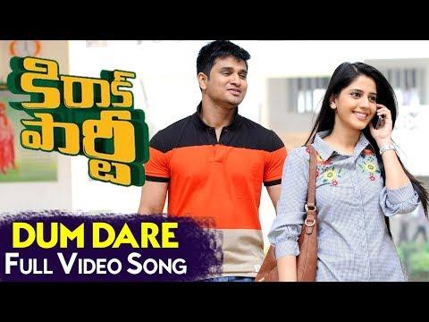Dum Dare Full Video Song | Kirrak Party Full Video Songs | Nikhil Siddharth | Samyuktha | Simran