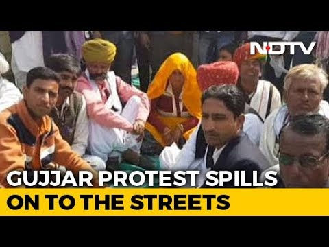 """""""Not Leaving Till We Get 5 Per Cent Reservation,"""" Warn Gujjar Protesters In Rajasthan Mp3"""